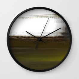 The World Coming Undone Wall Clock