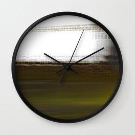 The World Coming Undone Wall Clock