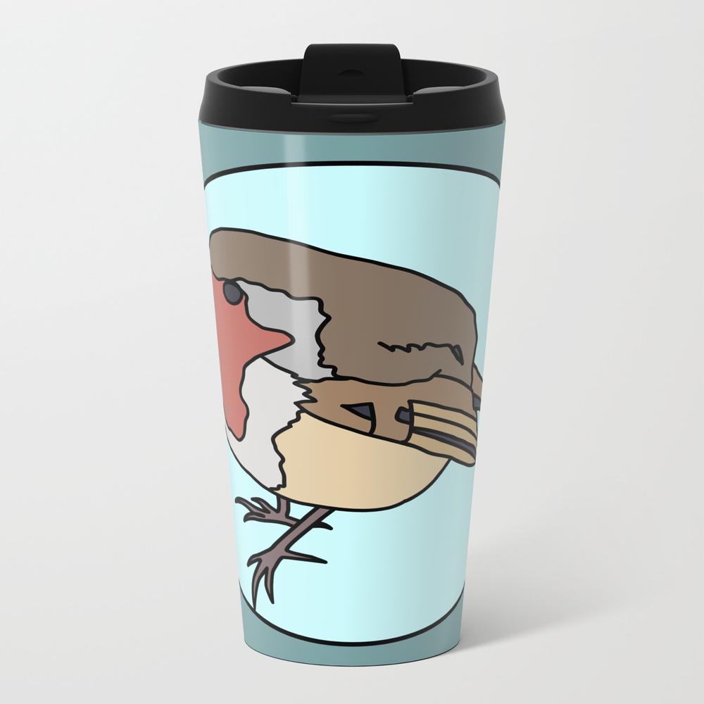 Robin - Robin Redbreast Travel Mug (TRM8909815) photo