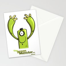 THE GREEN MONSTER... Stationery Cards