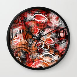 Going rouge Wall Clock
