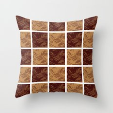 Shoe Lines Throw Pillow