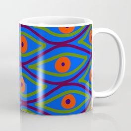 Their Eyes - Royal Blue Coffee Mug
