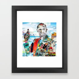 Bond James Framed Art Print