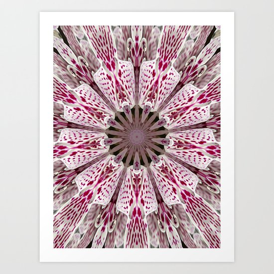 Flower from the Future? Art Print