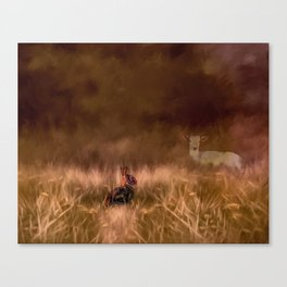 Creatures Great And Small Canvas Print