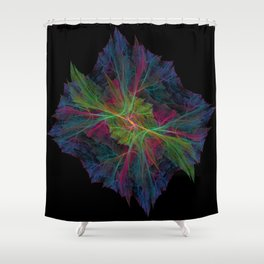 Wispy Cell Shower Curtain