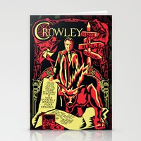crowley Stationery Cards featuring Crowley by Tracey Gurney