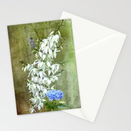 Flowers at my Door Stationery Cards