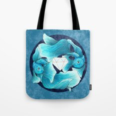 underwater guardians - fishes Tote Bag
