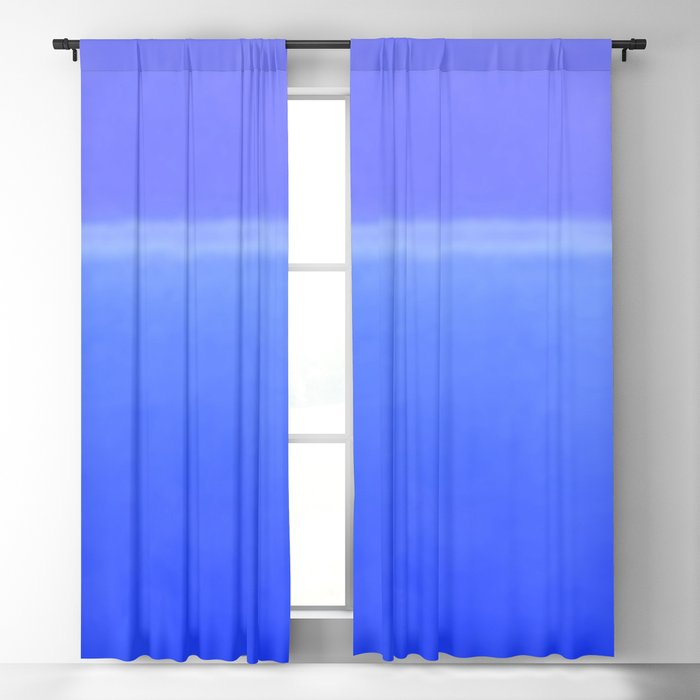 Blue City of Chefchaouen in Morocco Blackout Curtain