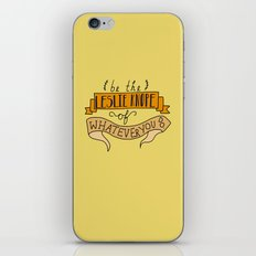 Leslie Knope, Yellow iPhone & iPod Skin