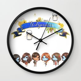 Godspawns Wall Clock