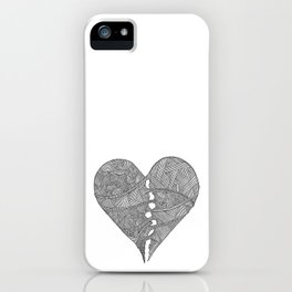 Mended Hearts iPhone Case