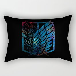Wings Of Justice: Galaxy Rectangular Pillow