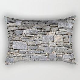 City Wall Rectangular Pillow