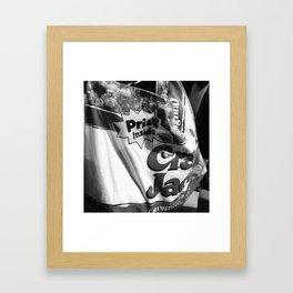 snack jack Framed Art Print