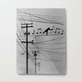 High Notes Metal Print