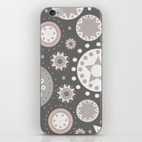 milky way iPhone & iPod Skins featuring Milky Way by Moon Rabbit Design
