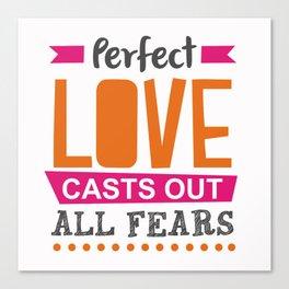 Perfect Love Canvas Print