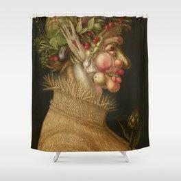 Giuseppe Arcimboldo - Summer Shower Curtain