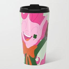 St Pattys Pinkie Travel Mug