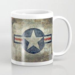 USAF vintage retro style roundel Coffee Mug