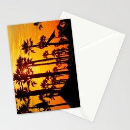 HB Pier Plaza Palms Stationery Cards