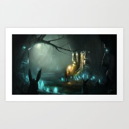 Ancient Woods Art Print