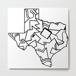 Texas Pride Metal Print