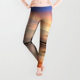 Sunset Symmetry Leggings