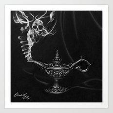 Death Wish Art Print