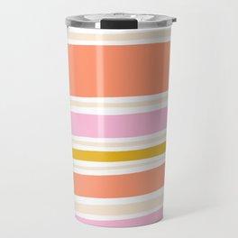 del mar, 70's stripes Travel Mug