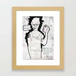 """""""Moby Dick"""" Framed Art Print"""