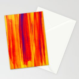 hot colors Stationery Cards