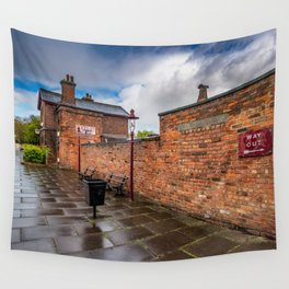 Hadlow Victorian Railway Station Wall Tapestry