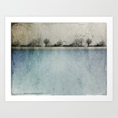 Winter Landscape - Susan Weller Art Print