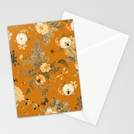 Vintage & Shabby Chic - Golden Summer Day Botanical Flower Roses Garden Stationery Cards