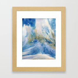 Waterfall infusion Framed Art Print