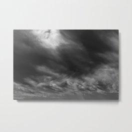 Brewing Storm Metal Print