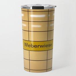 Berlin U-Bahn Memories - Weberwiese Travel Mug