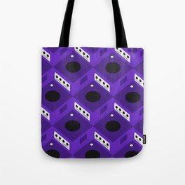 Gaming Cube Pattern Tote Bag