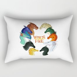 Wings of Fire - All Together Rectangular Pillow