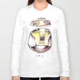 Coffee Face 03 Long Sleeve T-shirt