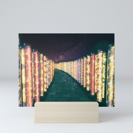 Silk path Mini Art Print