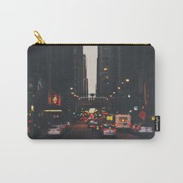 sunset in the city ... Carry-All Pouch