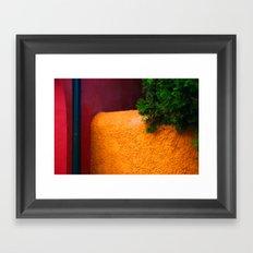 Abstract walls Framed Art Print