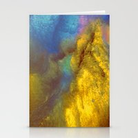 golden Stationery Cards featuring Golden by Benito Sarnelli