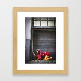 Jinkies a Clue!!  Framed Art Print