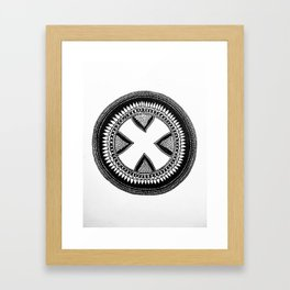 Drum Circle Framed Art Print